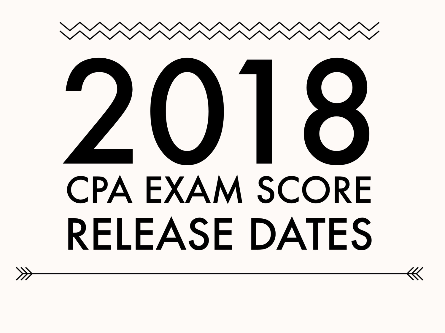 AICPA announces 2018 CPA Exam score release dates